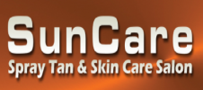 Suncare Spray Tan and Skin Care Salon Logo